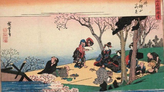 Yasui Tenjinyama hanami