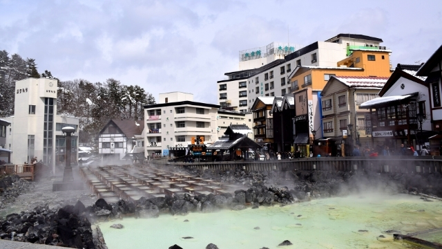 Japanaufenthalt: Kusatsu Onsen